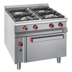 GAMME MASTER 900 - GAS COOKING RANGE
