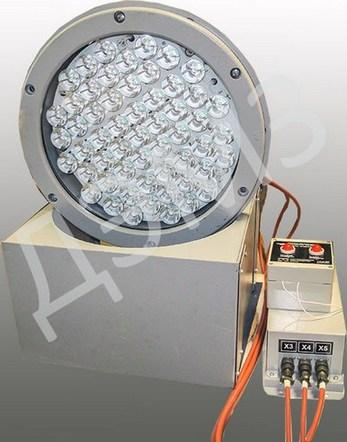 Прожектор лобовой светодиодный ЛПС-55М
