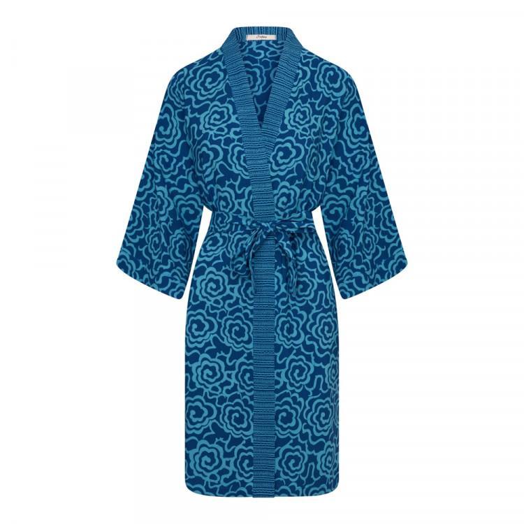 """Short Kimono """"don't Worry"""" - Kimonos & Tunics"""