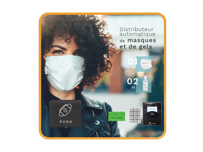 Mini Distributeur Sans Écran 9 Sélections - null