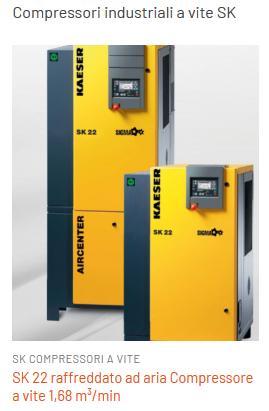 compressori silenziati sk - compressori industriali silenziati