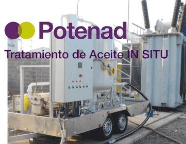 Tratamiento de Aceite IN SITU  - Aceite de Transformadores