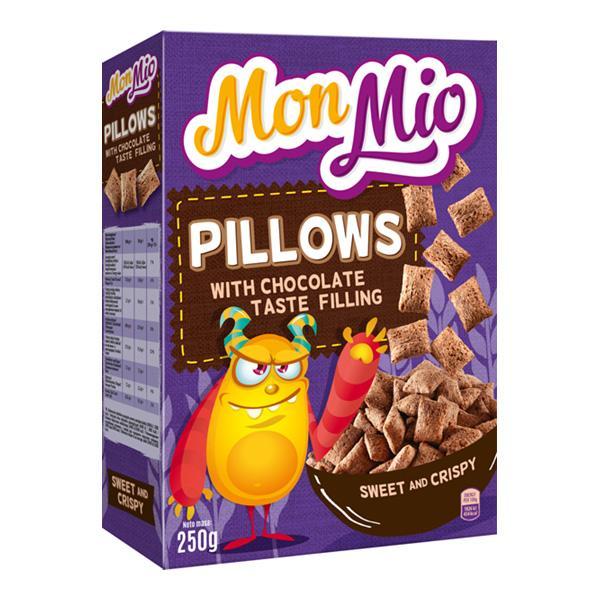 Céréales fourrées au chocolat 250g - MONMIO - Céréales fourrées au chocolat 250g - MONMIO