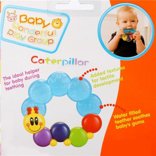 Sensory teether for babies - Wishtime Water Filled Teethers for Babies