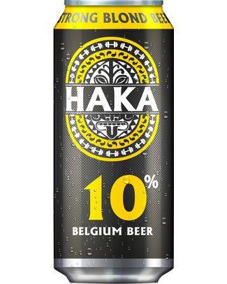 HAKA 10° cans 50cl - 24 - Exclusivité / bières