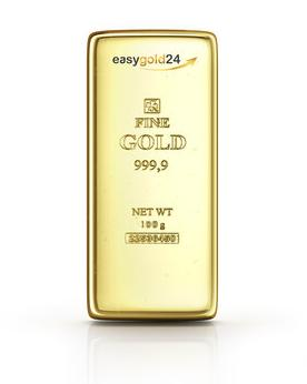 100 g Goldbarren kaufen -