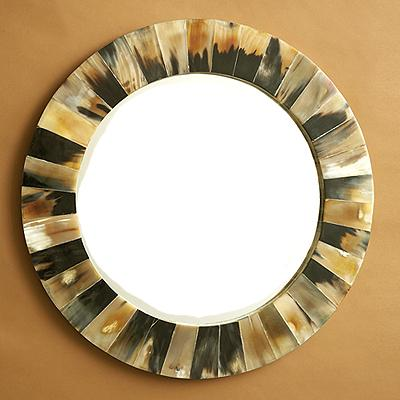 Horn Bone Wall Mirror