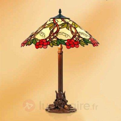 Lampe à poser Jilliana 61 cm - Lampes à poser style Tiffany