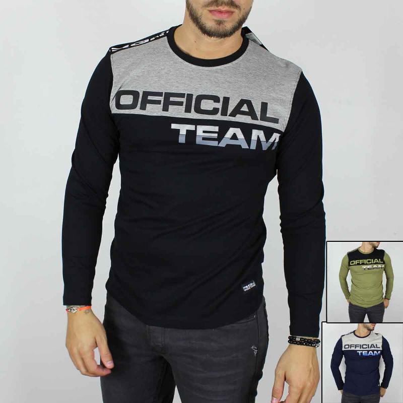 Fournisseur de T-shirt manches longues RG512 du 4 au 14 ans - T-shirt et Polo manches longues