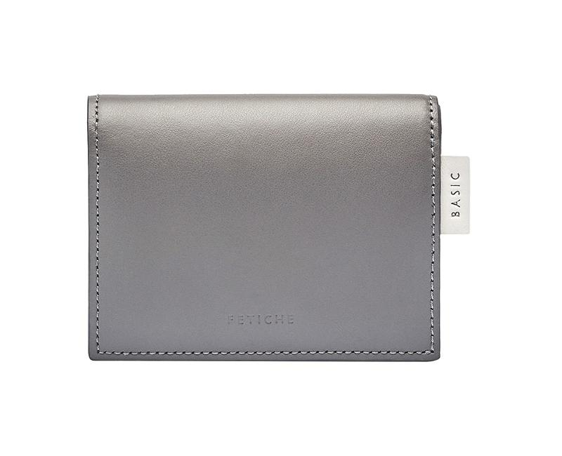 Mini Wallet, Grey - null
