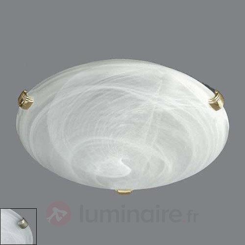 Superbe applique ou plafonnier KATJA - Plafonniers en verre