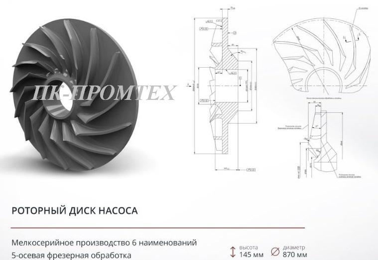 Роторный диск -