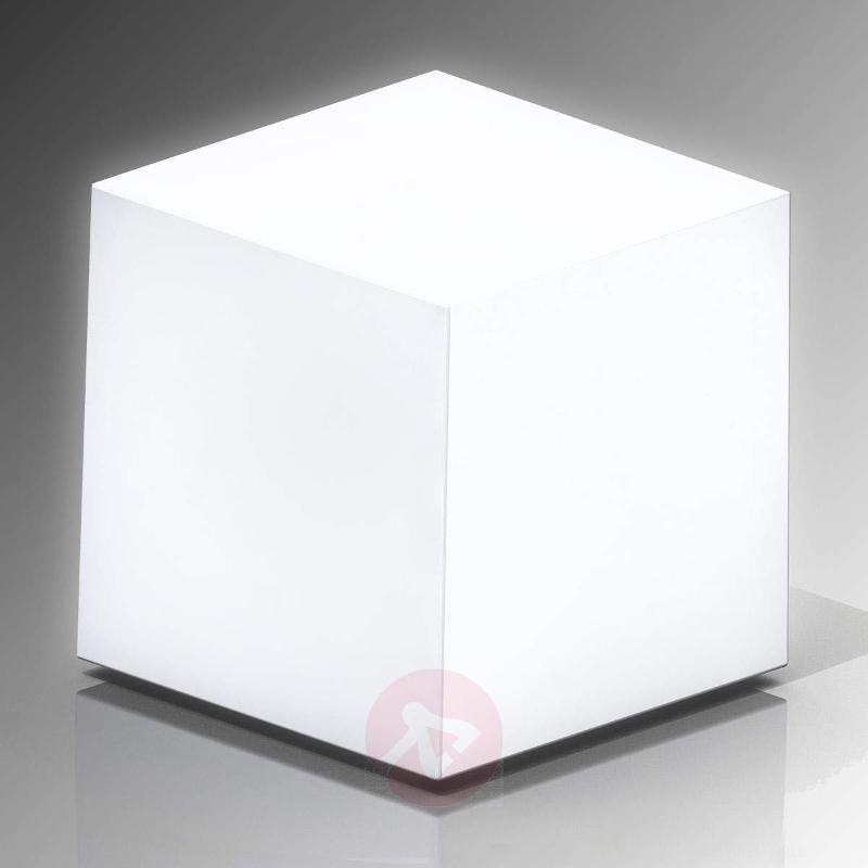Cube solar light in cube form - Decorative Solar Lights