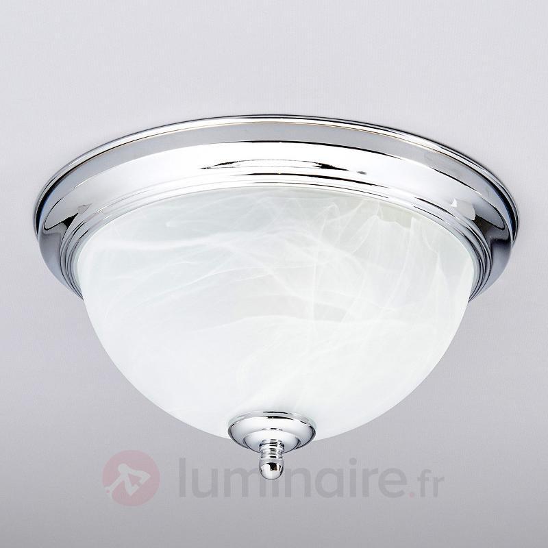 Plafonnier pour salle de bain Corvin chrome - Salle de bains