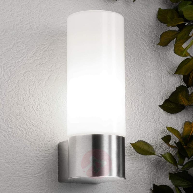 Cala decorative outdoor wall light without sensor - stainless-steel-outdoor-wall-lights