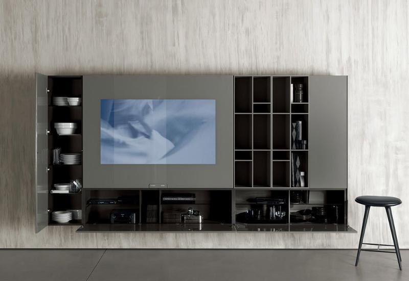 Composizione N.C. Smartwall - Composizioni soggiorno