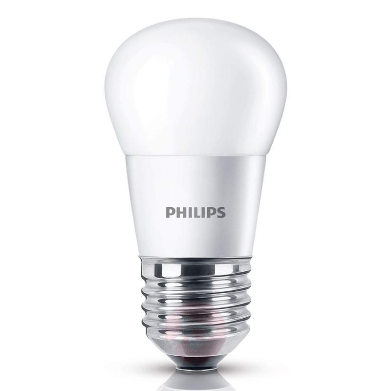 E27 4 W 827 LED golf ball bulb, matt - light-bulbs