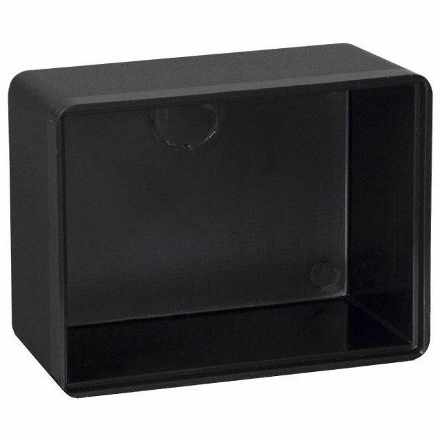 """BOX ABS BLACK 2""""L X 1.5""""W - Bud Industries PB-1558"""