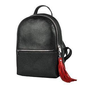 Genuine leather women's backpack  - Women's backpack