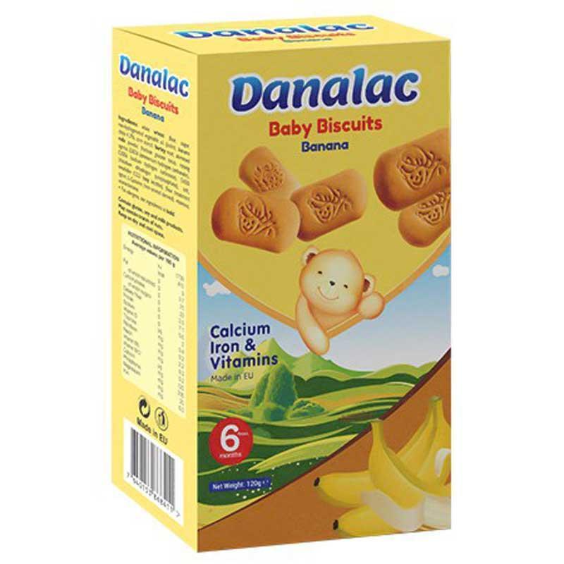 DANALAC嬰幼兒磨牙餅干 - 幼兒手指餅干