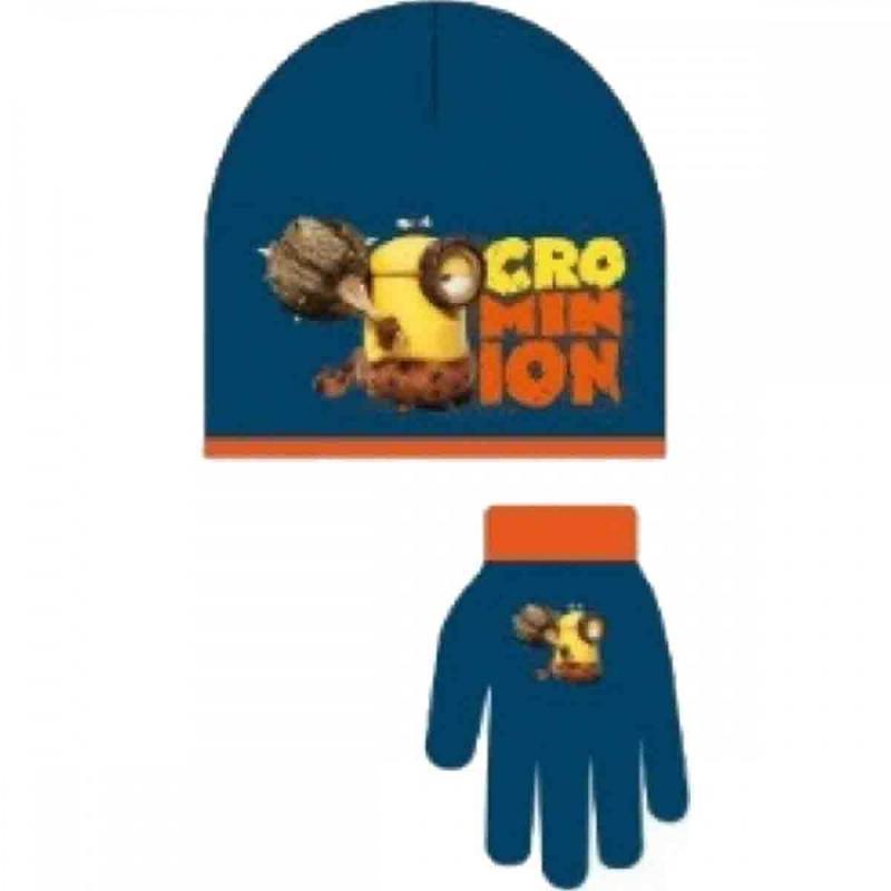 3x Bonnets et gants Minions - Bonnet Gant Echarpe
