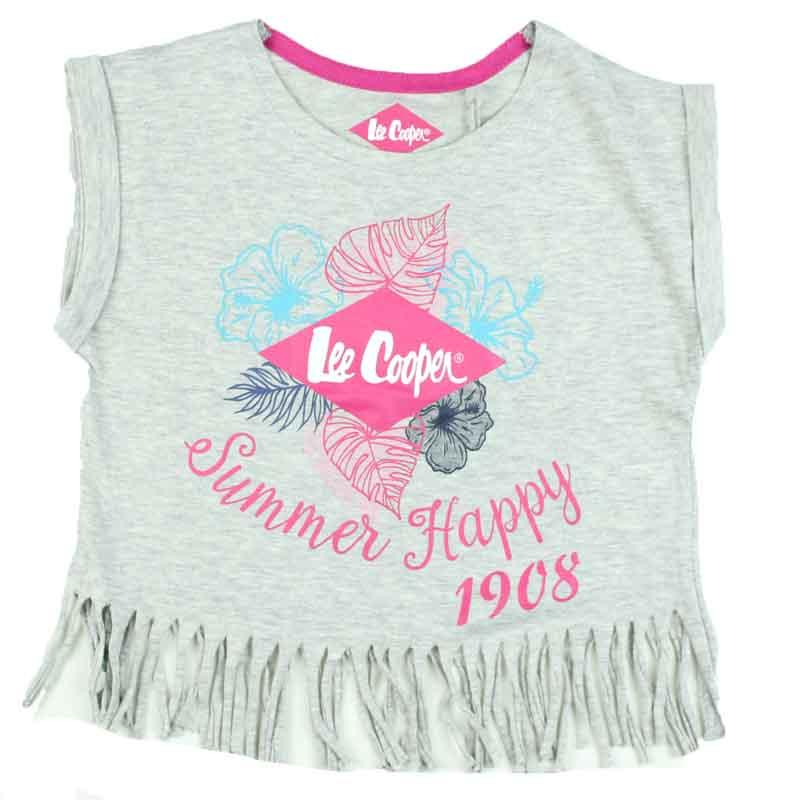 Wholesaler clothes kids T-shirt licenced Lee Cooper - T-shirt and polo short sleeve