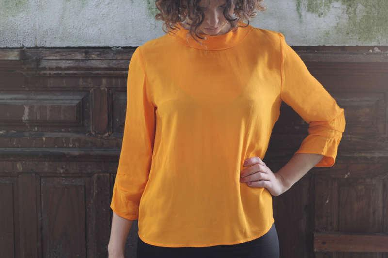 Woman Sleeve top -