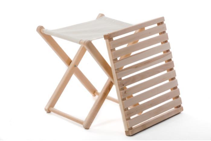 Folding garden table L in XL -
