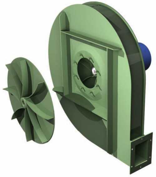 Gbr - Ventilateur Haute Pression Type Gbr - Transmission Directe - null