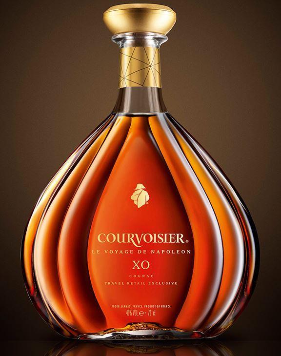 XO Le Voyage de Napoléon  - Cognac Courvoisier