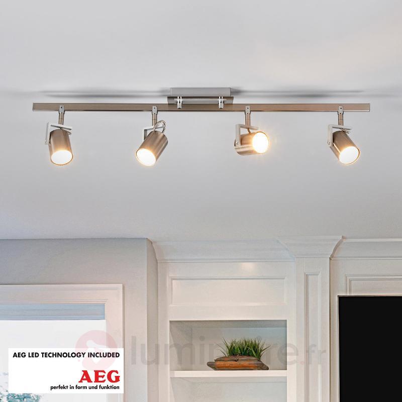 Plafonnier LED à quatre lampes Morea - Spots et projecteurs LED