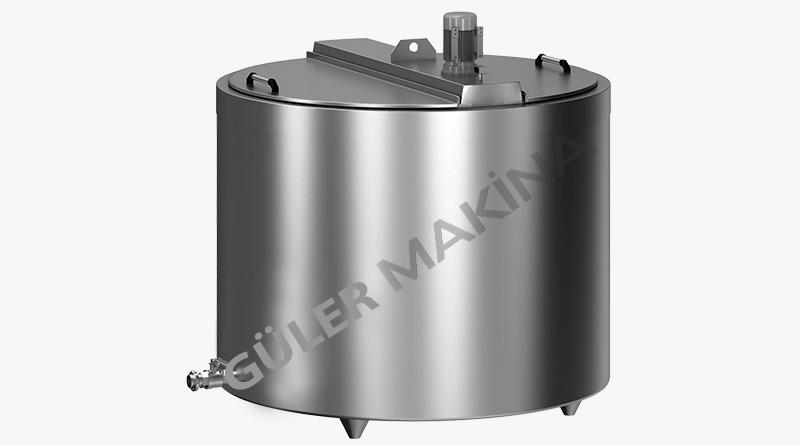 cooking tanks - milk cooking tanks