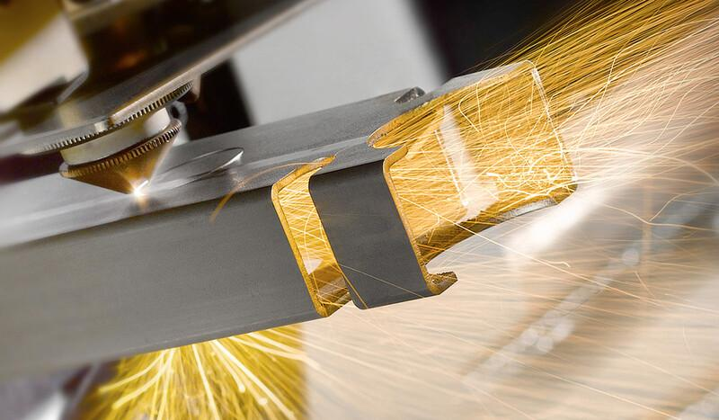 Laser cutting of tubes and profiles - null