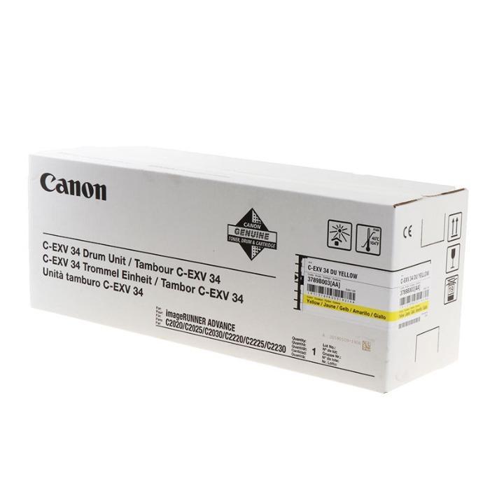 Drums van Canon - Canon Drum 3789B003 C-EXV34 geel