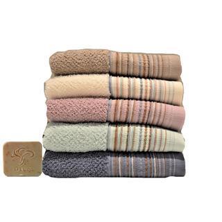 Πετσέτες Line 450gr 100% βαμβακερές  - Διαθέσιμες διαστάσεις 30x50cm, 50x90cm, 70x140cm σε 5 χρώματα