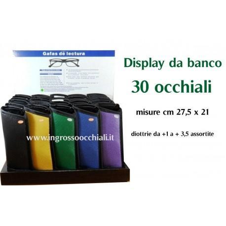 Box display 30 pezzi - Box da banco occhiali da lettura unisex