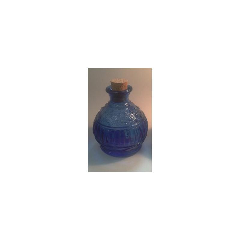 6 mini flacons / mini bocaux 150 ml MIGUEL ANGEL VENECIANA bleus avec bouchon li - Mini bocaux