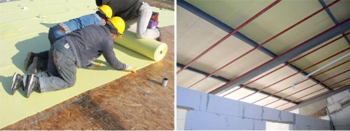 Concrete Flooring Mat - Under parquet and under screed