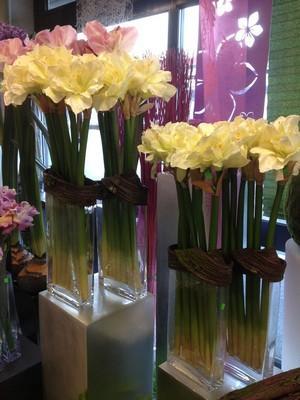 Composition florale fleurs artificielles