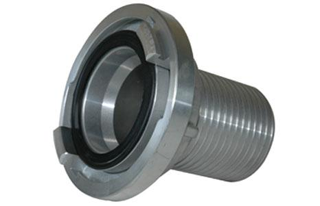 Storz couplings - Suction coupling with serrated profile