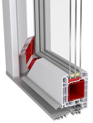 PVC-85 Entrance Door (PVC Door - Aluplast) - PVC 85mm Entrance Door