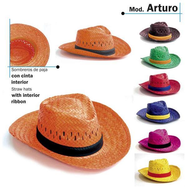 Sombrero de Paja  - Con cinta interior