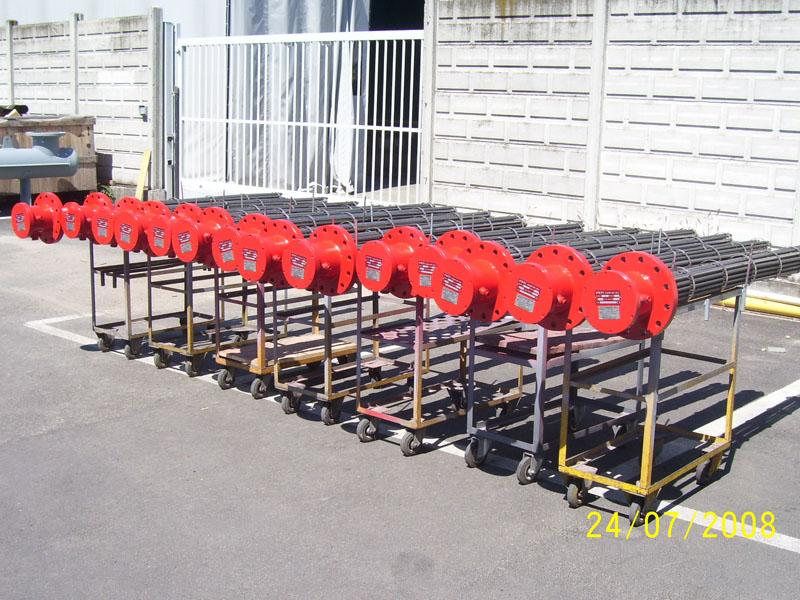 Flanged Heaters - ATEX / IECEx Ex d