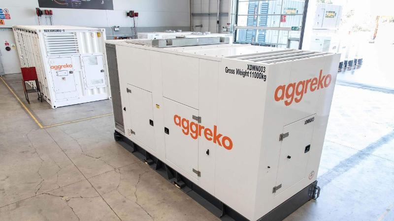 600 Kva Canopy-generator - Stromerzeugung