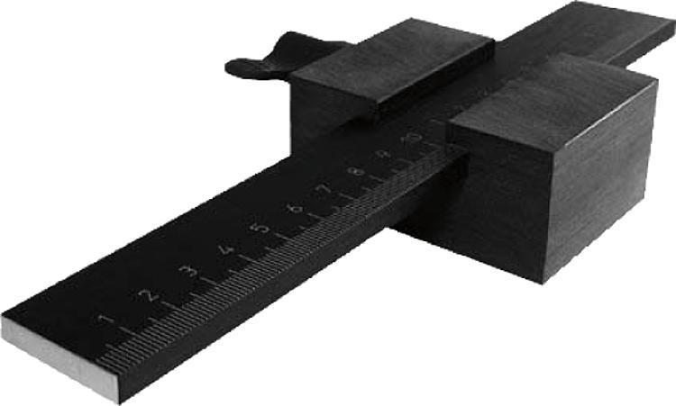 Règle en aluminium autoadhésive ou avec perçages - Règles, indicateurs de position, nivelles