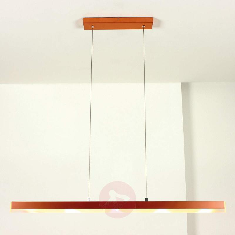 La Mer copper LED pendant light - Remote Control Lighting
