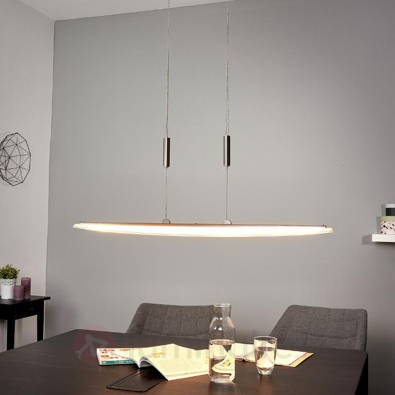 Suspension à barre Clariss LED, hauteur variable - Suspensions LED