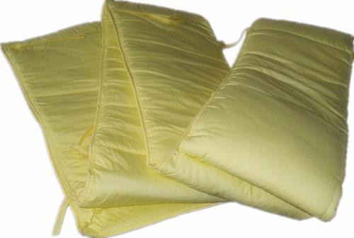 Cradle curtain  - Yellow pink checkered, etc., a variety of colors, can be customized