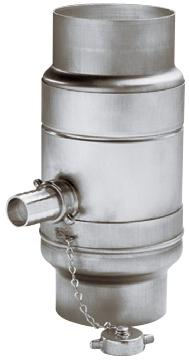 water collector with hose adapter set - aluminium - water collectors