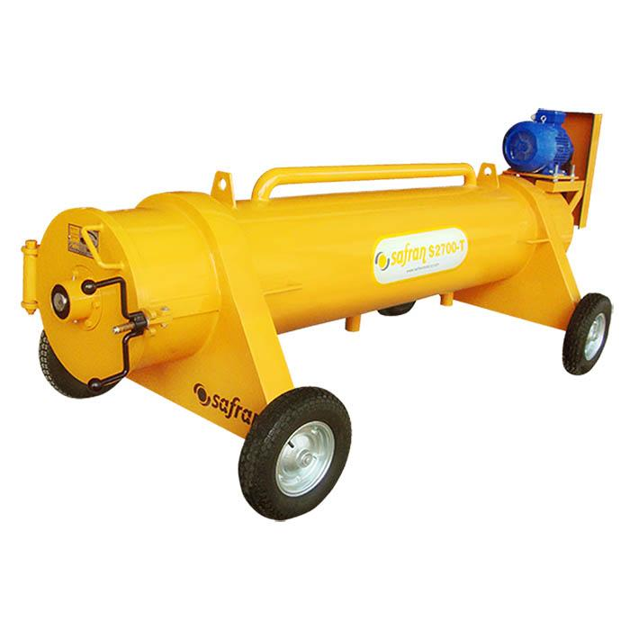 Carpet Spin and Dry Machine - Carpet Spin and Dry Machine on Wheels